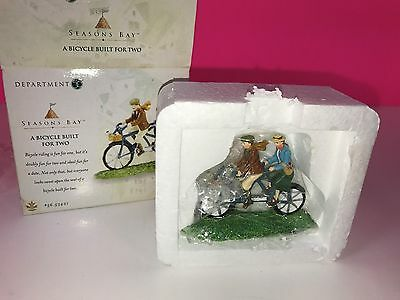 Department 56 Seasons Bay Bicycle Built for Two Ornament Decoration Mint