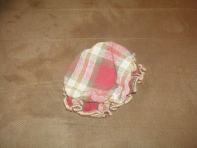 Longaberger Orchard Park Plaid Jar Bonnet Cover