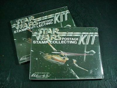 NobleSpirit NO RESERVE {3970} Pair of Unopened Star Wars Stamp Collectors Kits