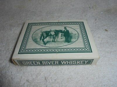 Vintage Green River Distilling Whiskey playing cards unused Owensboro KY