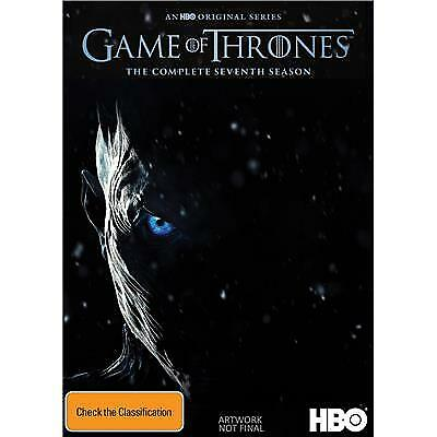 Game Of Thrones Season .7 DVD Direct From USA!