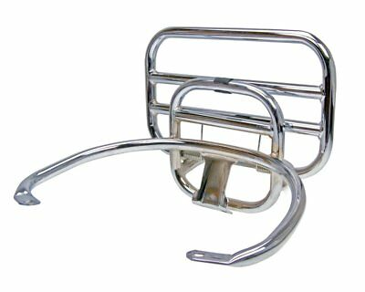 Top Case carrier / Porters foldable chrome for Vespa GT 125 ZAPM31 (Leader)