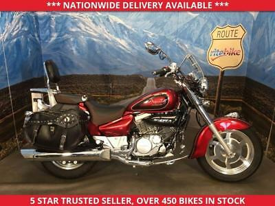 Hyosung Gv250 Gv 250 N Aquila Cruiser Low Miles One Owner 2017 66 Plate