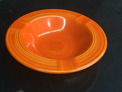 Excellent VINTAGE FIESTA WARE Ashtray ~ Original Red