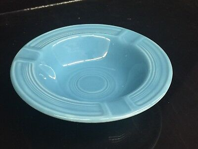 Excellent VINTAGE FIESTA WARE Ashtray in Turquoise