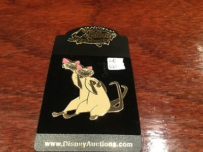 disney auction pin 2 cats    le 1000  retired