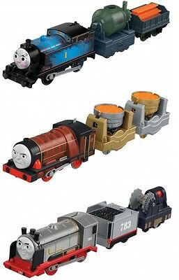 Brand New Trackmaster Trains Steelworks Thomas Hurricane Merlin The Invisible
