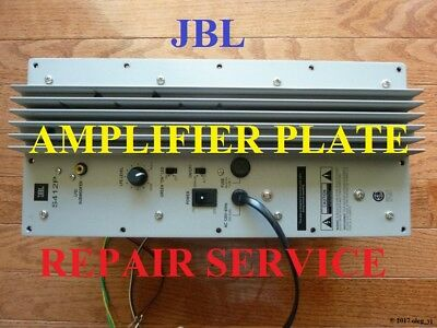 S412P or S412Pii JBL Subwoofer Amplifier Plate REPAIR SERVICE