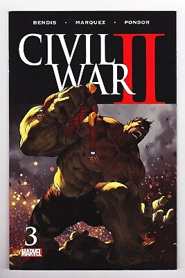 Civil War II #3 (September 2016, Marvel) DEATH BRUCE BANNER COMBINED SHIPPPING