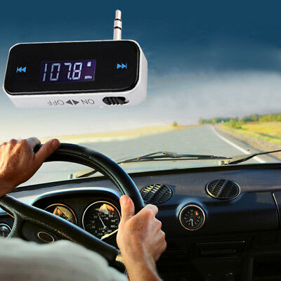 Car Kit Wireless Bluetooth FM Transmitter Player USB SD LCD Remote Handsfree AT