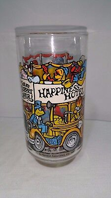 Muppets Happiness Hotel McDonald's Glass Jim Henson Cup Vintage