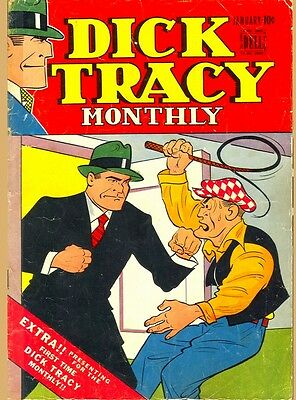 Dick Tracy Monthly Comic on DVD over 140 comics