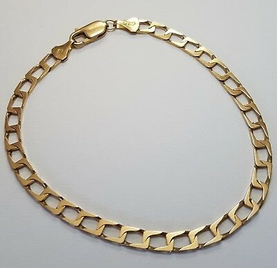 Stunning High Quality Bracelet. Unisex. Solid 9ct Gold. 375 Italy. Not Scrap