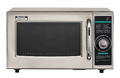 Commercial Microwave oven, 120 volts 1000 watts, NSF-4, Timer, Sharp R-21LCF