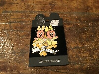 disney auction pin It's twins   le 1000  retired