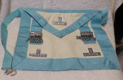 Used craft Past Master apron with rear pocket