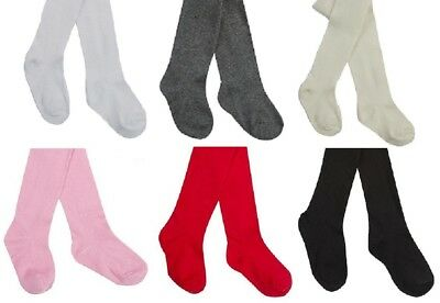 """Baby plain tights"" babies girls tight girl Newborn 0-3, 0-6, 6-12, 12-24"
