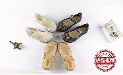NEW Mini Melissa  Bird's Nest Shoes Girl Sandals Kids Toddler US Size 6-11