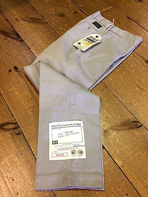 Levi's® Aviator Regulation Chinos/Khaki - 30/34 (1987)