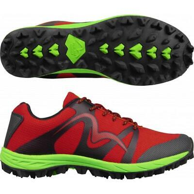 More Mile Cheviot 4 Mens Off Road Mud Trail Running Fell Shoes Trainers Red