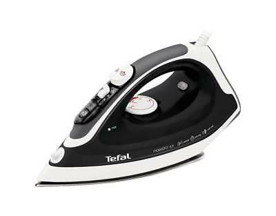 NEW Tefal FV3763 Maestro 63 2300W Steam Iron Stainless Steel Sole Plate Black