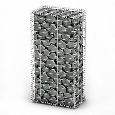 Basket Wall with Lids Galvanized Wire 100 x 50 x 30 cm Free Delivery Brand New