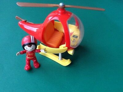 Noddy In Toyland. Noddy With His Helicopter Toy Vgc.