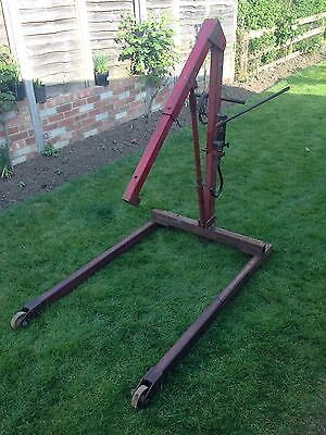 Engine Hoist - Fully Serviced And Good Working Order