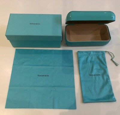 Tiffany & Co Glasses Case, Outerbox & Cloths