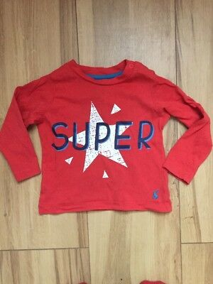 Joules Boys Baby Top 9-12 Months