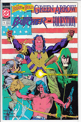 BRAVE AND BOLD #1of 6 VFN+/VFN GREEN ARROW, BUTCHER,AND QUESTION 1992  D.C COMI