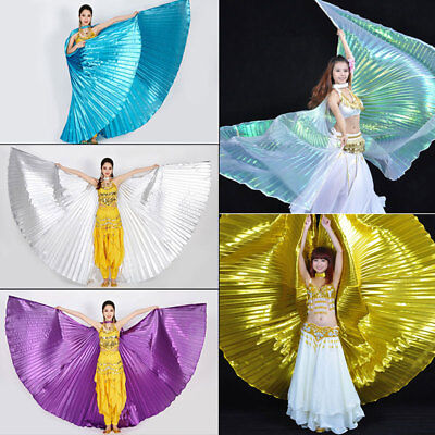 AU Shiny Soft Fabric Butterfly Wings Shawl Fairy Ladies Fashion Show Isis Wings