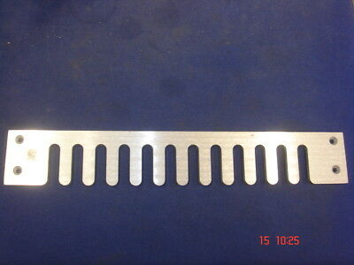 Dovetail Jig Spare Aluminium Template For 9/16 Spacing for SIP SEALEY AXMINSTER