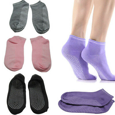 Women Yoga Socks Non Slip Pilates Massage Sport Ankle Socks Grip Socks Eyeful