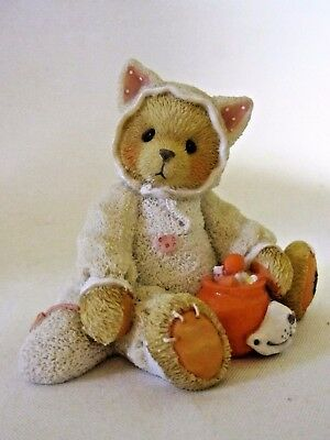 Cherished Teddies TABITHA You're The Cat's Meow Halloween 176257 1996