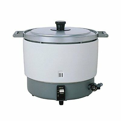 PALOMA Rice Cooker Large Volume Natural Gas MAX 6 liters LPG PR-6DSS F/S JAPAN