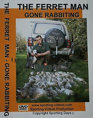 THE FERRET MAN -GONE RABBITING with Simon Whitehead-ferret,rabbits,nets,lurchers