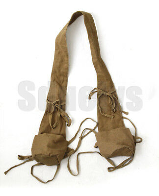 WWII Chinese  army combat field khaki equipment grenade pouch