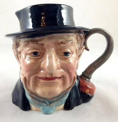Vintage Beswick Character Toby Jug Captain Cuttle 1120 Excellent Condition