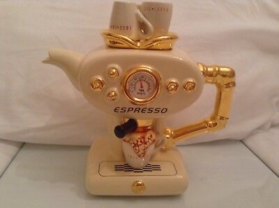 Teapottery Swineside Novelty Collectable Teapot Expresso Coffee M/c Grt Condtion