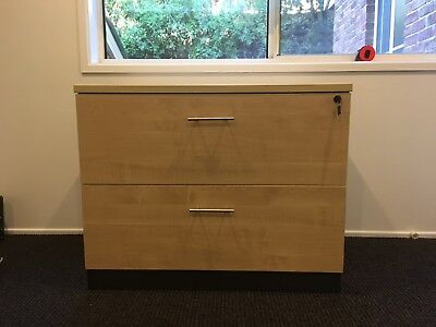 Double Draw Filing Cabinet