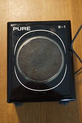 Pure Evoke Flow S-1 Additional Speaker (Black)