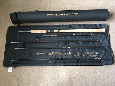 Shimano Exage STC 300/330h Travel Spinning Rod with Bag and Hard Case
