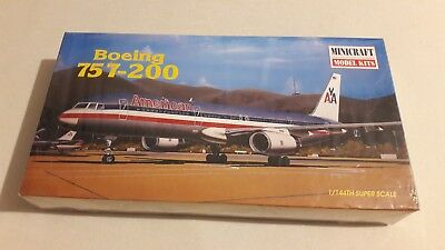 Minicraft Model Kits Bausatz 1:144 Boeing 757-200 American Airlines