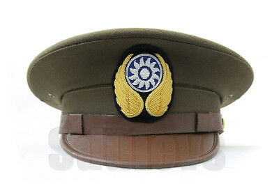 WWII Chinese  Air Force Officer Visor Cap Hat(1937-1942)