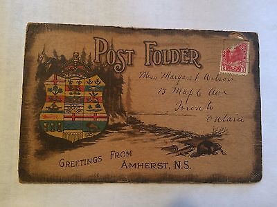 100-year-old Amherst, Nova Scotia Tourist Souvenir Pamphlet