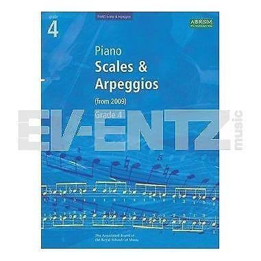 ABRSM: Scales & Arpeggios for Piano (from 2009) Grade 4