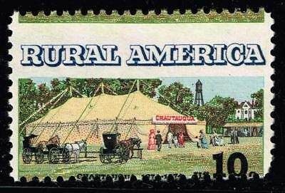 USA STAMP #1505 – 1974 10c Chautauqua Tent  MISPERF ERROR Unused ng stamp