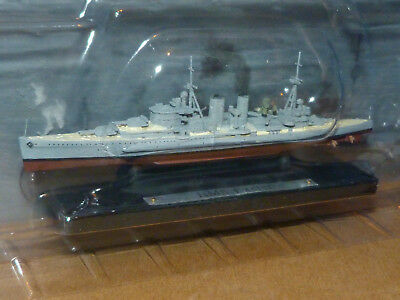 Atlas Editions 1:1250 Warship Collection Hms Exeter