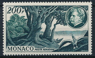[P2212] Monaco 1955 : good very fine MNH airmail stamp value $60